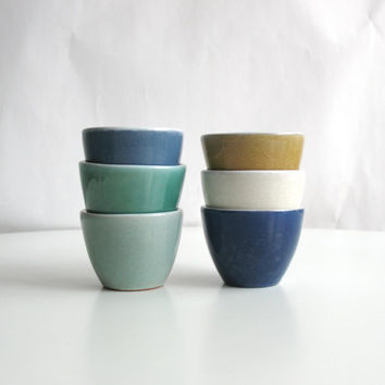 espresso ceramic cup coffee set wheel thrown pottery ristretto espresso cup - made to order