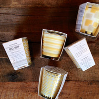 Paddywax Mixology Gold Design Candle
