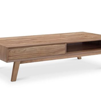 Victory Rect Coffee Table WALNUT