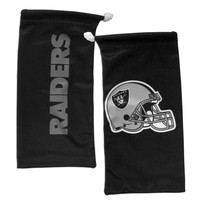 NFL - Oakland Raiders Microfiber Sunglass Bag