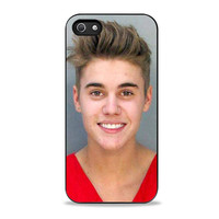 Justin Bieber Justin Bieber Mug Shot Iphone 5s Cases