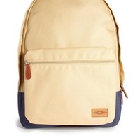 ASOS Backpack with Contrast Color Base - Beige