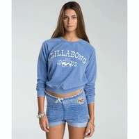 FALLING BACK PULLOVER CREW