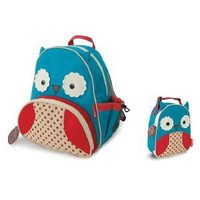 Amazon.com: Skip Hop Zoo Backpack and Lunchie- Owl: Baby