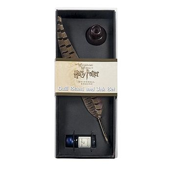 Universal Studios Harry Potter Quill Stand And Ink Set New with Box