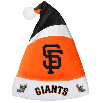 San Francisco Giants SF Holiday Christmas Santa Hat MLB Baseball