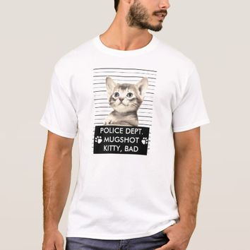 BAD KITTY MUGSHOT T-SHIRT