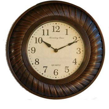 Set 0f Three Walll Mirror and Wall Clock