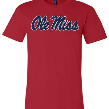 Official NCAA University of Mississippi Rebels Ole Miss Hotty Toddy Unisex T-Shirt - 95OLM