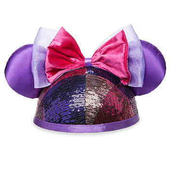 Minnie Mouse Sequined Ear Hat for Adults | Disney Store