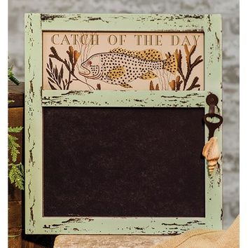 Catch of the Day Chalkboard Sign
