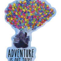 Disney Up Adventure Sticker