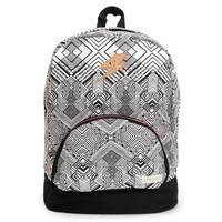 Empyre Girls Lucy Black & White Geo Print Backpack at Zumiez : PDP