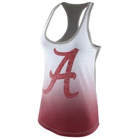 Nike Alabama Crimson Tide Large Logo Tri-Blend Tank - Women's, Size: