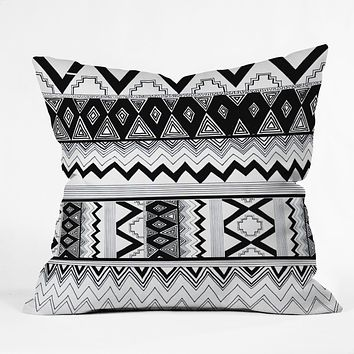 Kris Tate Wipil 3 Throw Pillow