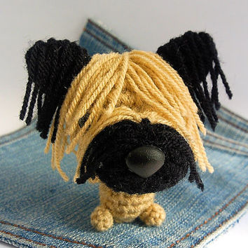 Amigurumi crochet  Skye Terrier, Skye Terrier Puppy, Dog toy, Dog plushie,crochet dog.