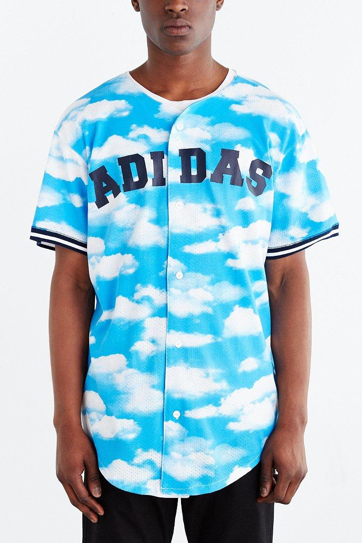 Adidas Originals Cloud Baseball Jersey From Urban Outfitters