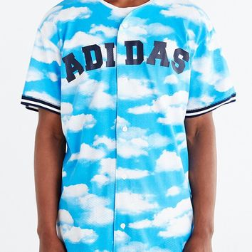 adidas Originals Cloud Baseball Jersey - Urban Outfitters
