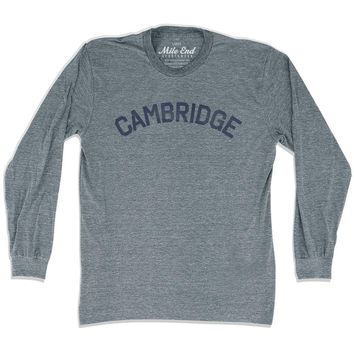 Cambridge City Vintage Long Sleeve T-Shirt