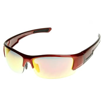 Shatterproof TR90 Half Frame Extreme Sports Sunglasses