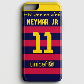 Neymar Jr Santos Barcelona Fc Jersey iPhone 6 Plus/6S Plus Case | casescraft