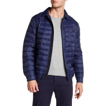 Slate & Stone Men's Lightweight Quilted Down Jacket