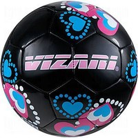 Vizari Retro Hearts Soccer Training Ball