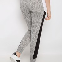 Black Color Block Space Dye Jogger | Joggers & Sweatpants | rue21