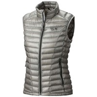 Mountain Hardwear Ghost Whisperer Down Vest - Women's Large - Steam