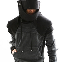 Two tone Duncan Armored Knight Hoodie(100% Handmade) Made To Order