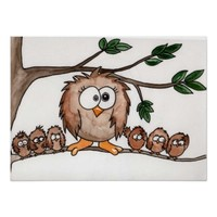 The Owl Family Poster