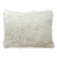 Wake Up Frankie - Shaggy Faux Fur Standard Sham - click for more colors! : Teen Bedding, Pink Bedding, Dorm Bedding, Teen Comforters