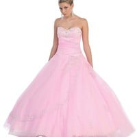 Quinceanera Long Ball Gown Sweet 16 Dress 2018