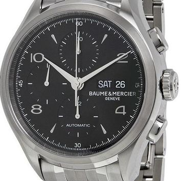 Baume and Mercier Clifton Stainless Steel Chronograph Automatic Watch MOA10212