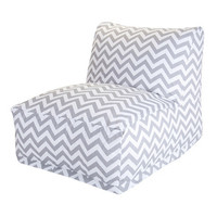 Zig Zag Lounger in Gray