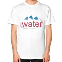 Water Logo Tee (on man)
