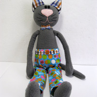 toy cats, soft, kitty, cats, handmade, softie stuffed, gift idea, for children, gift for her and him, birthday