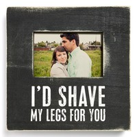 Primitives by Kathy 'Shave My Legs' Box Picture Frame - Black (4x6)
