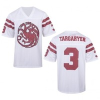 Game of Thrones Targaryen Football Jersey