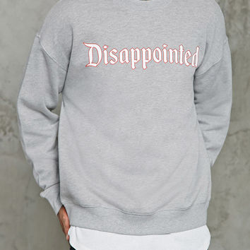 Disappointed Graphic Sweatshirt