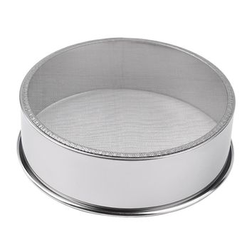 2015 newest high quality Stainless Steel Mesh Flour Sifting Sifter Sieve Strainer Cake Baking Kitchen hot search