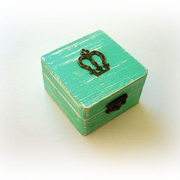 Wedding ring box, Wedding ring bearer, Bridesmaid gift box, Engagement ring box, Favor box, Mother of Bride gift box, Choose your color