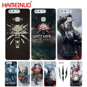 HAMEINUO The Witcher Wild Hunt Cover phone Case for huawei Ascend P7 P8 P9 P10 lite plus G8 G7 honor 5C 2017