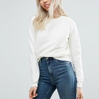 ASOS Jumper in Ripple Stitch at asos.com