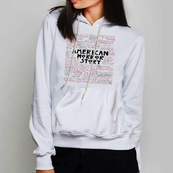 Unisex Hoodie Cool American Horror Story Quotes