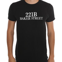 221B Baker Street Slim-Fit T-Shirt