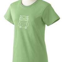 Women's Owl T-Shirt - Donation to Madcap Charity