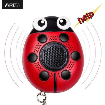 Multi-functional 130db self defense Personal Alarm keychain with mobile speaker and  LED Flashinglight