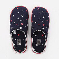Home Ladies Winter Cotton Shoes Anti-skid Slippers [9680910087]