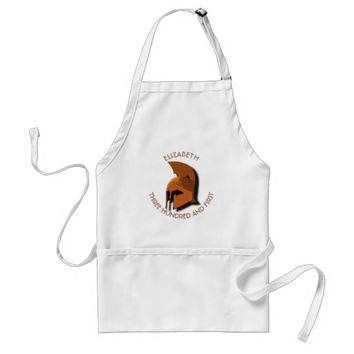Unknown Spartan 301th Hero Greek Helmet Adult Apron